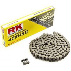 Łańcuch napędowy RK 428HSB standard otwarty z zapinką wzmocniony