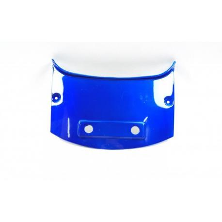 Obudowa - łącznik tylny niebieski do skutera Huragan 5