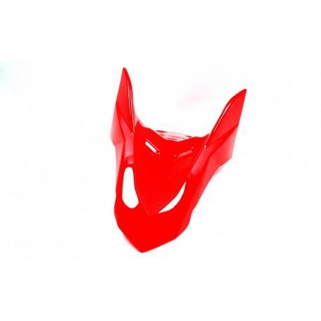 Obudowa błotnik przedni-część górna czerwony do motocykla Hyper 125