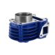 Cylinder 50cc Moretti do skutera Huragan 5 z silnikiem poziomym/ kolor niebieski