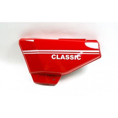 Obudowa boczna lewa czerwona do motoroweru Ranger Classic