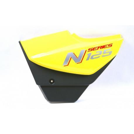 Obudowa boczna lewa żółta do motocykla N125