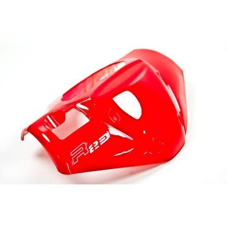 Obudowa licznika (przód) czerwona do skutera Challenger 2