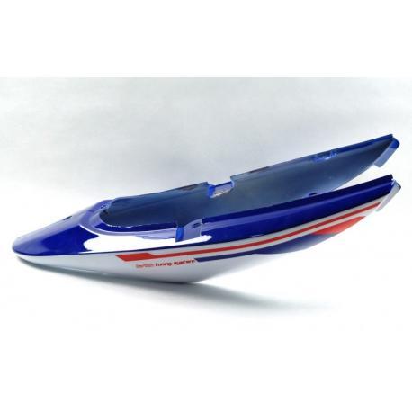 Obudowa tylna biało-niebieska do motoroweru Sprint 2