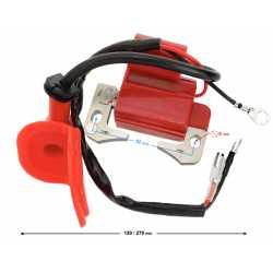 Cewka zapłonowa Pocket czerwona 50cc