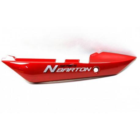 Obudowa tylna lewa czerwona do motocykla N125