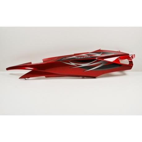 Obudowa tylna lewa czerwona do motoroweru Flex