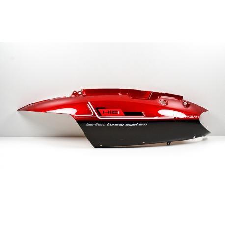 Obudowa tylna lewa czerwona do skutera Huragan 5