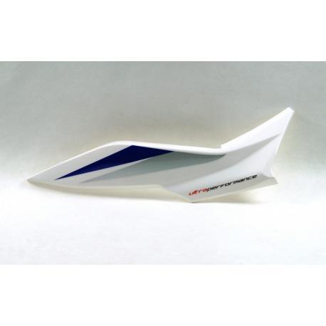 Obudowa tylna prawa biało-niebieska do motoroweru FR50