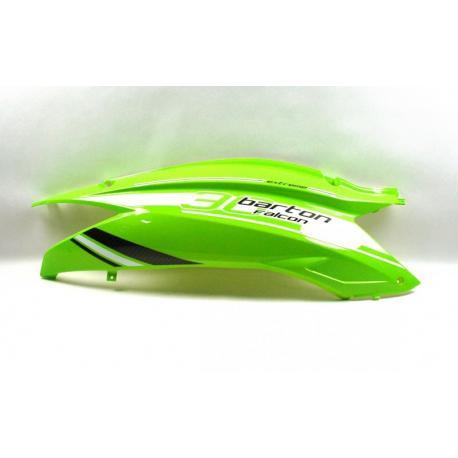 Obudowa tylna prawa zielona lakierowana do skutera Falcon 125 2