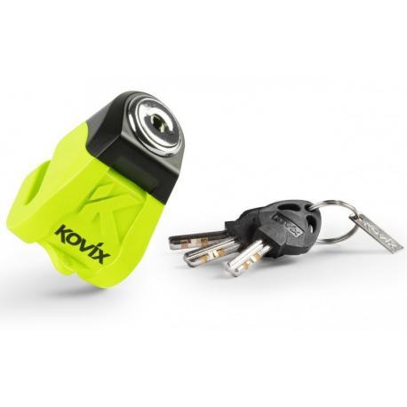 Blokada tarczy hamulcowej KOVIX KN1 żółta fluorescencyjna