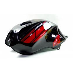 Zbiornik paliwa czarno-czerwony do motoroweru Sprint RS 2