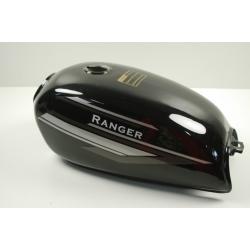Zbiornik paliwa czarny do motoroweru Ranger Classic