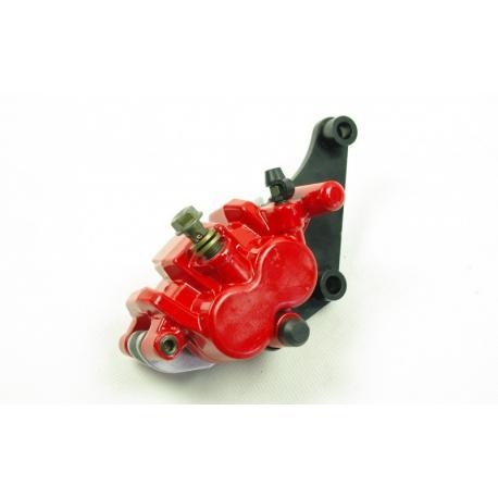 Zacisk hamulca przedniego czerwony do motocykla Hyper 125