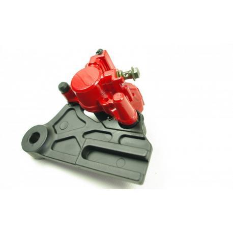 Zacisk hamulcowy tylny czerwony do motocykla Hyper 125