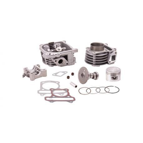 Cylinder i głowica 80cc Moretti do skutera Huragan 5 z silnikiem poziomym