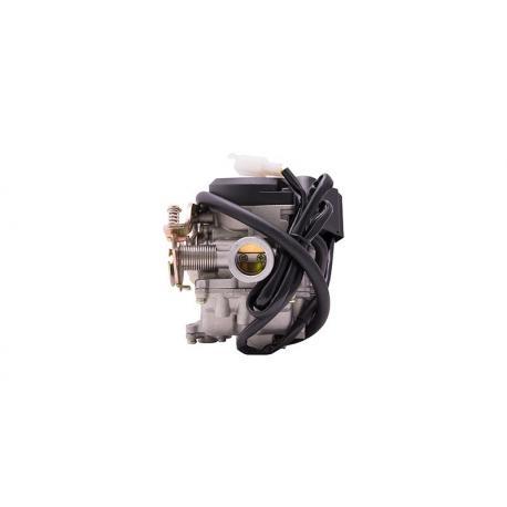 Gaźnik Moretti GY6, 50cc 4T, p.18 mm, ssanie automatyczne, plastikowa pokrywa