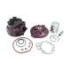 Cylinder i głowica Moretti do motoroweru 2T 90cc AM6 fioletowe